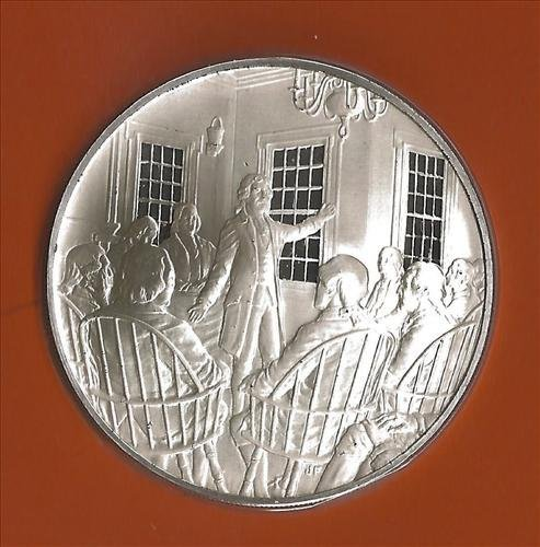 Sterling Silver Bicentennial Medal