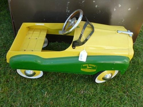 John Deere -Gear box car green yellow- pedal