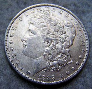 1889O Morgan Silver Dollar