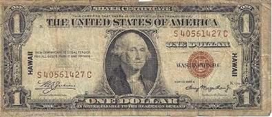 Hawaii 1935A $1 Silver Certificate