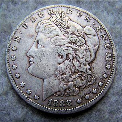 1888O Morgan Silver Dollar