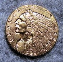 1925D $2 1/2 Gold Quarter Eagle