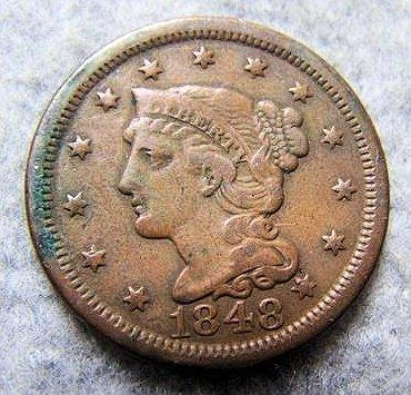 1848 Large Cent
