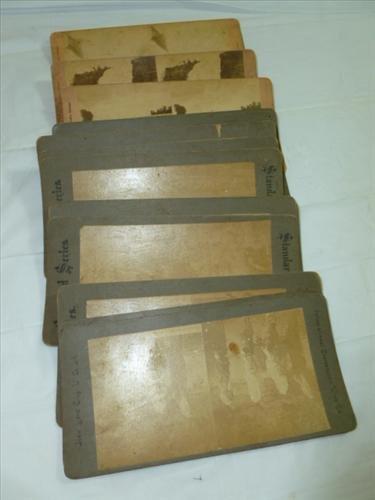 Stereo scope cards- 18 pcs-Kilburn-standard