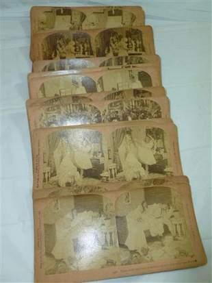 Stereo scope cards-18 pcs-B.W. Kilburn Littleton