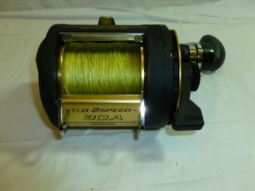 Fishing reel TLD 2 speed 30A-Shimano like new condition