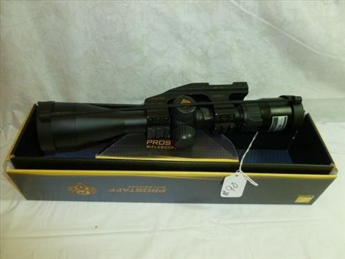 Prostaff riflescope in box- Nikon-3-9x40 matte BDC-