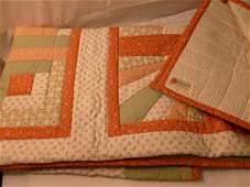 Antique Quilt-Sampler 4 patterns- Log