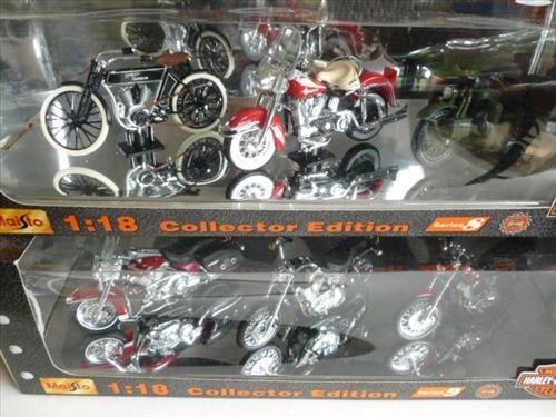 2 New in Box- Harley- 1:18 Maisto collectors- 2000 -6