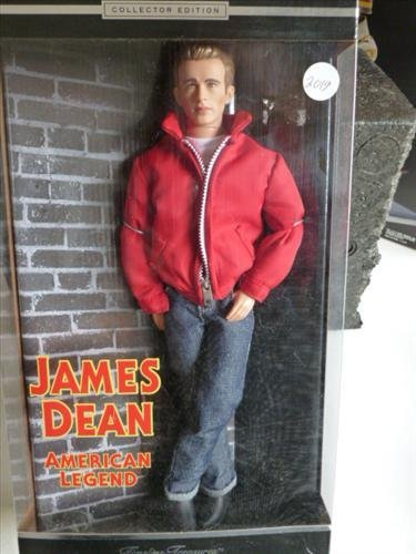 James Dean doll new in box- Mattel-2000 -Timeless