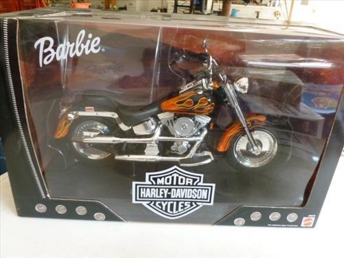 Barbie - Motor cycle-Harley- new in box- Mattel--2000