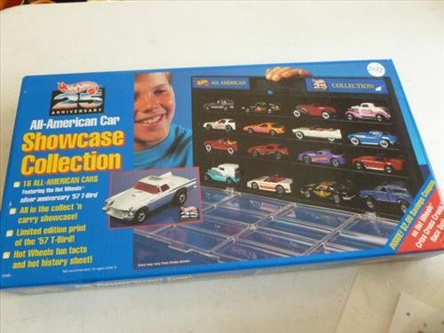 New sealed box of 16 All American cars with case- 1993-