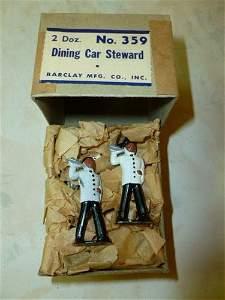 RARE Barclay box with 2 Dozen No#359-Dining Car