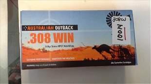 Australian Outback .308 Win 168 grain 20 rounds