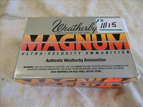 3 Weatherby .240 Weatherby Magnum 87 Gr PT-EX