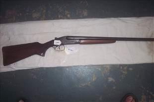 Stevens Model 5100 16 GA double barrel shotgun used