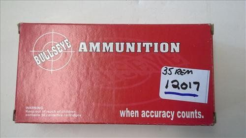 Bullseye 35 Remington 200 GR RN SP 20 rounds