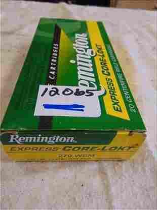 Remington Core-Lokt 270 WSM 130 Gr R270WSM1