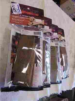4 Blackhawk Single Pistol Mag Pouches #38CL06CT