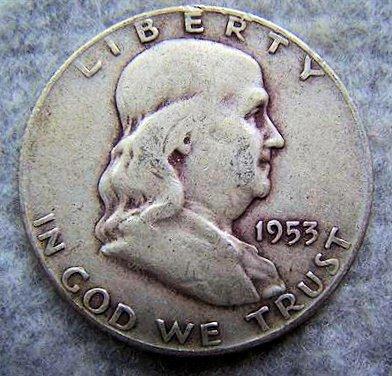 1953D Franklin Half Dollar