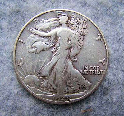 1942 Liberty Walking Half