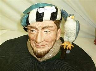 Royal Doulton Large Toby-The Falconer-D6533-Corp