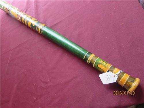 0eeb055c4d5 American Indian Hand Carved Baseball Bat Nice Colors