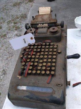 Vintage Adding Machine--needs Tlc!