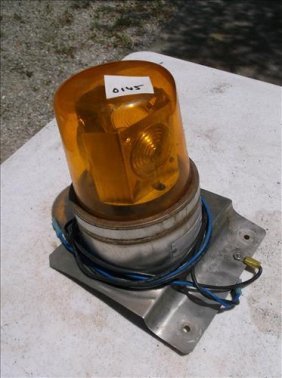 Vehicle Mount Amber Caution Light