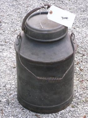 Large Vintage Oil Can W/handle-gulf Refining Co.