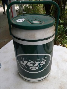 Cool! Ny Jets Can-shaped Beverage Cooler