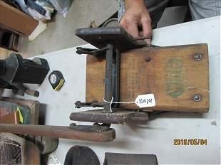 """Wood Vintage #2 Mop Press 1824 Pat Date W/Handle 25"""""""