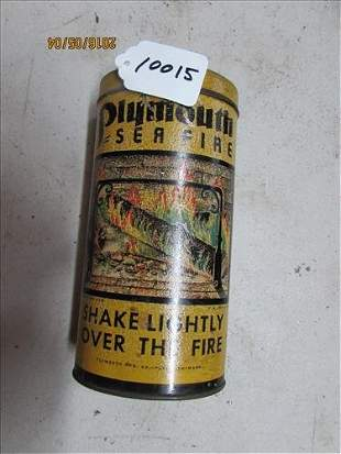 """Plymouth Sea Fire 7"""" Container"""