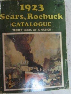 1923 Sears& Roebuck Book Hand Size