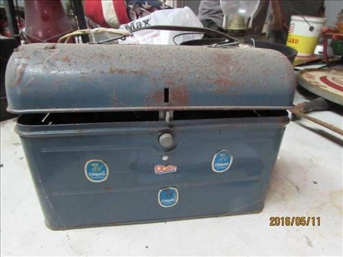 Vintage Lunch Box 10 1/2x7