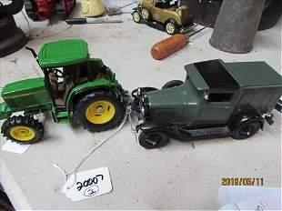 Die Cast Ford1931 Mew Toy, John Deere Tractor 5 1/2x6