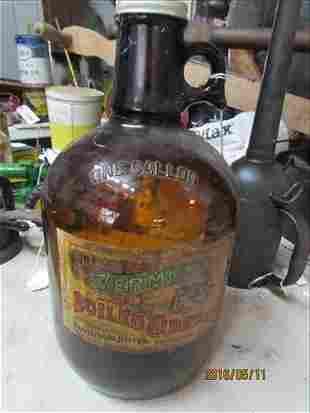 Vermont Boiled Cider Jug Braitlebordn Jelly Co. 1