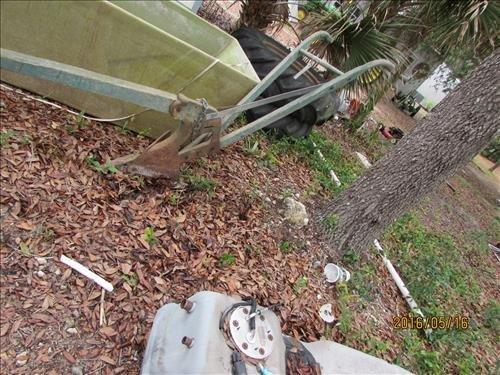 """Horse or Cow Plow  Vintage wood& metal 6'6"""""""