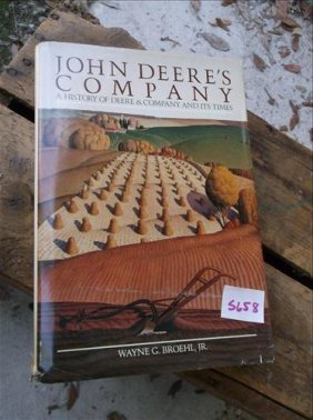 1984 Hardcover Book-john Deere's Company:a History