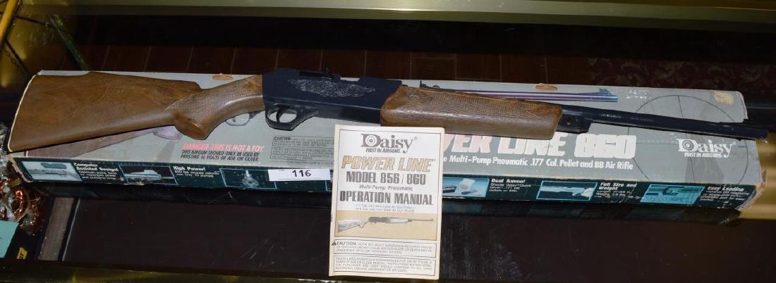 DAISY POWERLINE 860 CAL 177/BB4 5mm PUMP RIFLE
