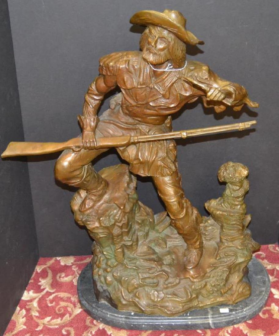 "Marshall Mitchell ""Unexpected Trouble"" Bronze"