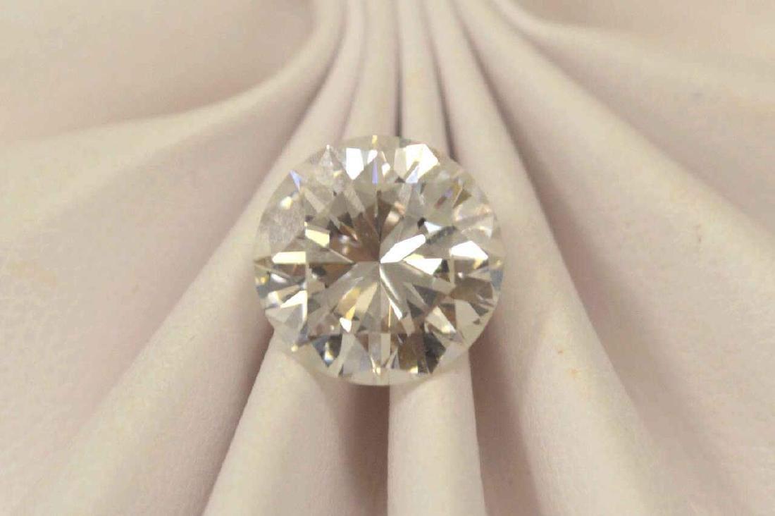 Loose 3.51ct Round Diamond H/ VS1 GIA