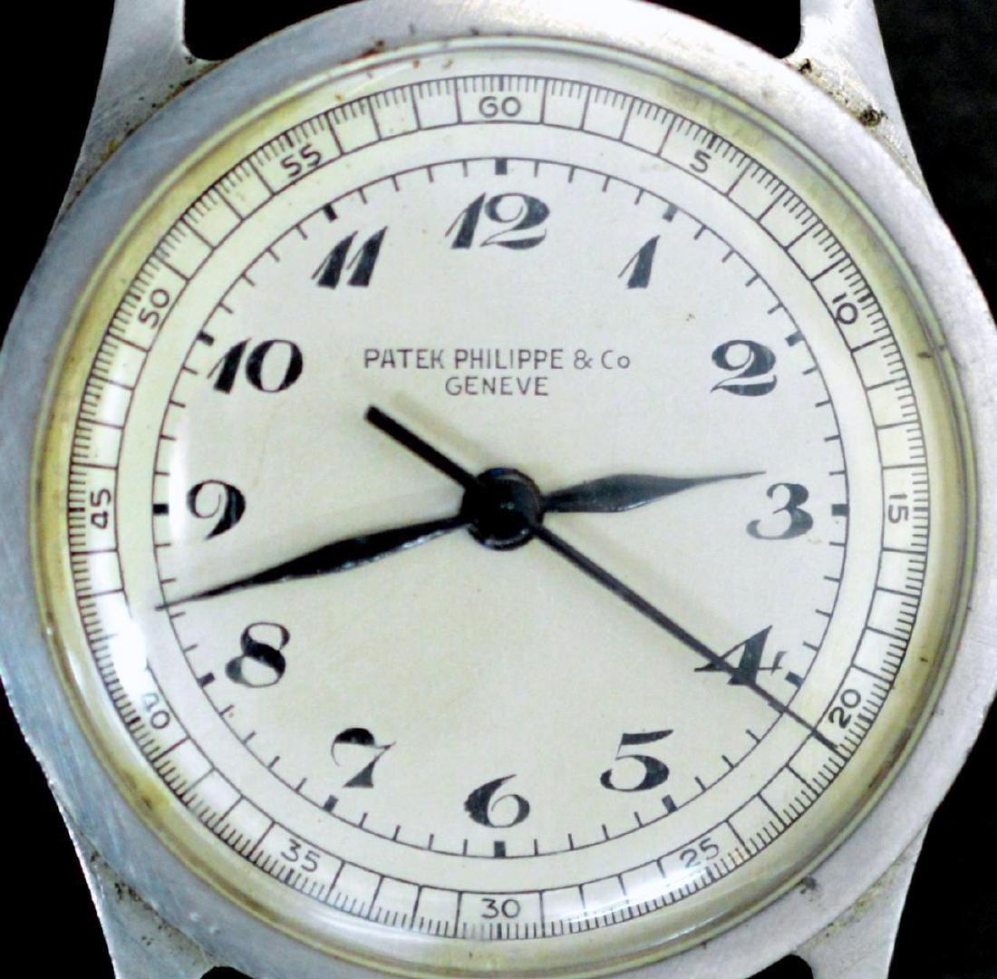 Vintage Man's Stainless Patek Philippe Calatrava Watch