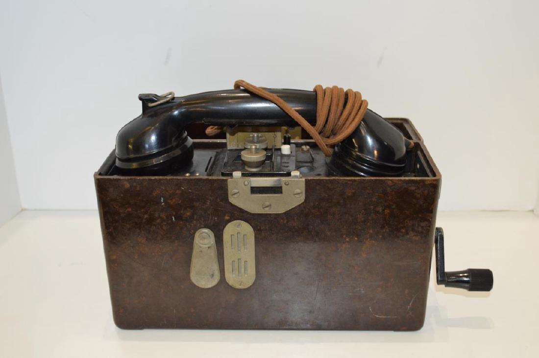WWII German Army FF33 Field Phone