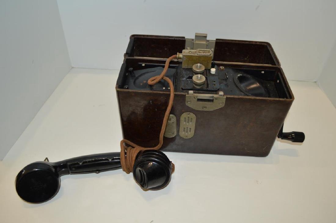 WWII German Army FF33 Field Phone - 4