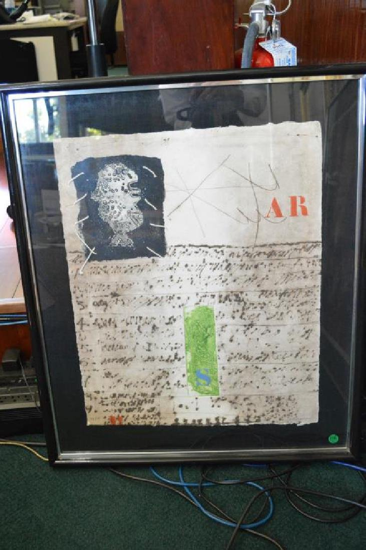 Mixed Media Etching by James Coignard