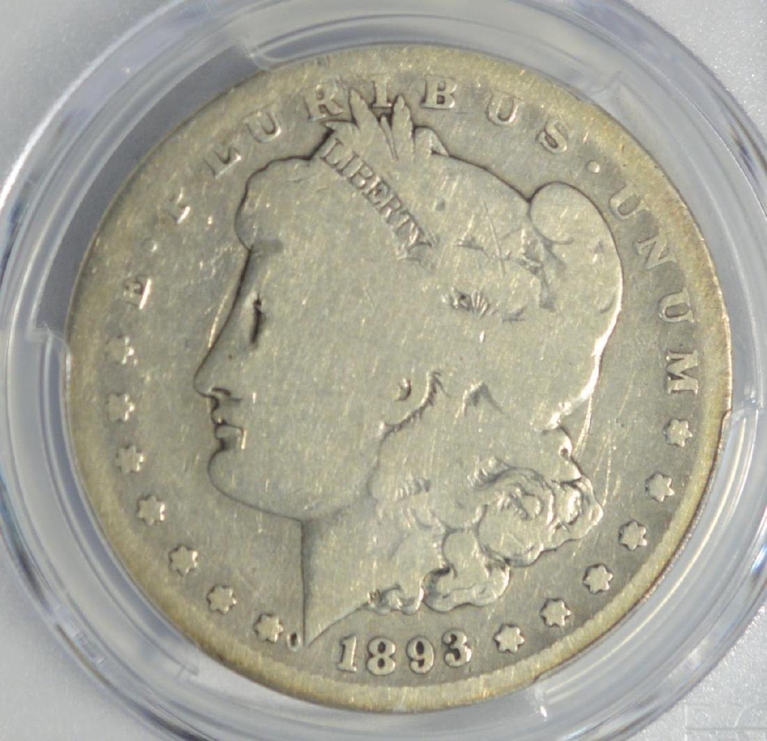 1893-S Morgan Silver Dollar PCGS G 04