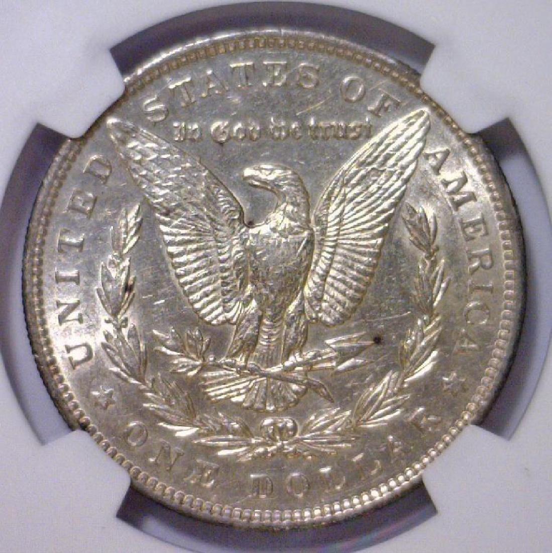1892 Morgan Silver Dollar NGC AU55 - 3