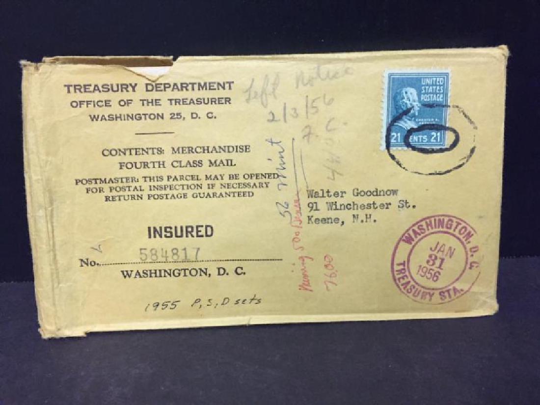 1955 Original Double Mint Set with Envelope - 5
