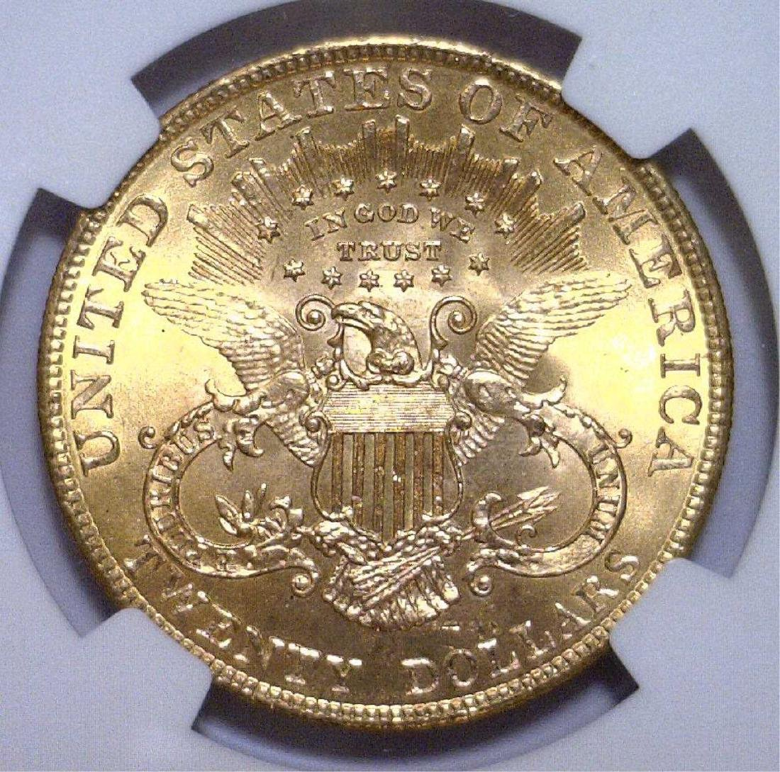 1901 $20 Liberty Double Eagle Gold NGC MS64+ Plus - 3